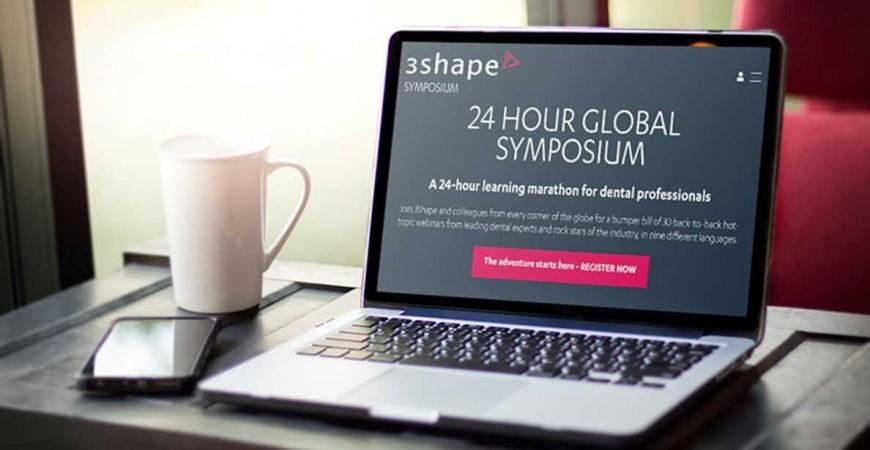 Η 3Shape πραγματοποιεί τον 24ωρο μαραθώνιο διαδικτυακών σεμιναρίων!